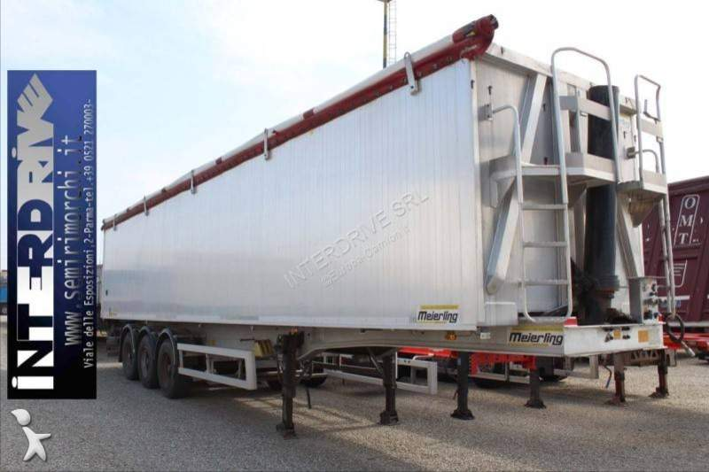 Semirimorchio ribaltabile trasporto cereali Meierling
